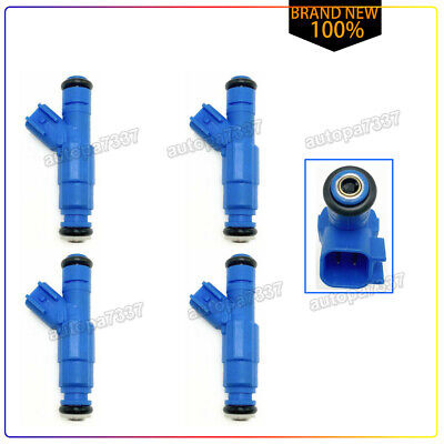 Set of 4 Bosch 0280158105 fuel injector 06-11 Ford Ranger 2.3L Duratec 7L5G-AB