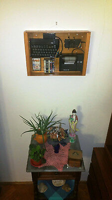 Zx Spectrum 48K Fully Renovated In Wooden Display Case Great Gift Working Superb