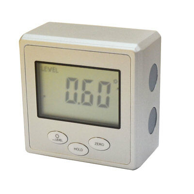 iGaging Digital Angle Cube Gauge Electronic Sliding Level Sensor Bevel Magnetic