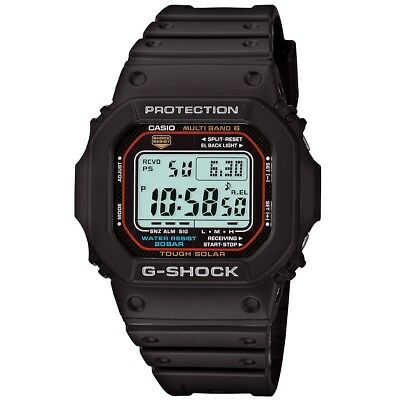 Brand New Casio G-Shock Gwm5610-1 Black Digital Mens Solar Watch Nwt!!