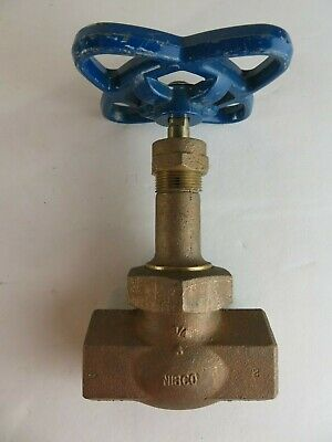"New Nibco T-275-Y 3/4"" Bronze Valve Threaded End 600 Wog T275Y T 275 Y"