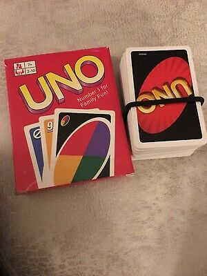 Uno Card Game with Extra Cards