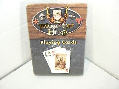 NEW SEALED Tricked Out Hero Playing Cards Deck by Prolific Games
