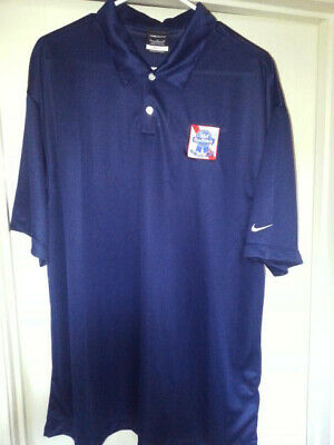 cf52e53c PABST BLUE RIBBON NIKE DRI-FIT GOLF PBR Mens XL Beer Polo Delivery ...