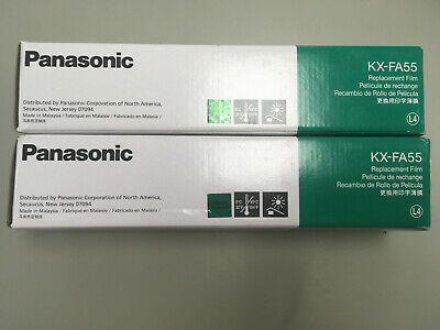 KXFA55 Panasonic Replacement Film 2 Rolls Genuine OEM LOT OF 2