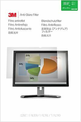 """New  3M Anti-Glare Filter For 22"""" Widescreen Monitor (16:10) AG22.0W1B"""