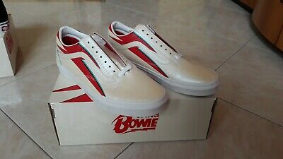 "VANS X DAVID BOWIE  Old Skool ""Aladdin Sane"" New with box UK9.5 EUR44"