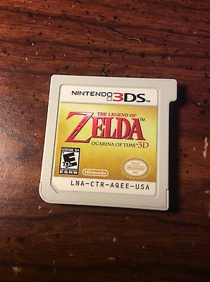 The Legend Of Zelda Ocarina Of Time for Nintendo 3DS Game Cartridge Only