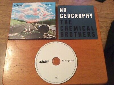 The Chemical brothers - No Geography (2019) CD.