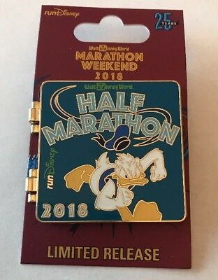 Disney Parks Marathon Weekend  Run Disney 2018  Trading Pin