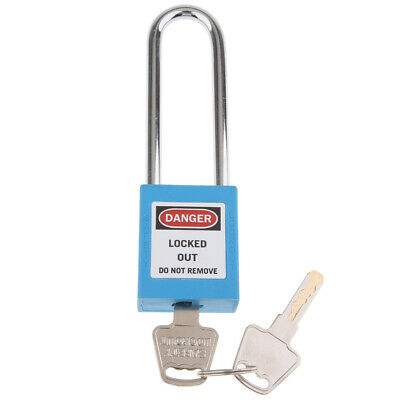 Safety Lockout Stainless Steel Keyed Different Padlock with 3-Inch Shackle