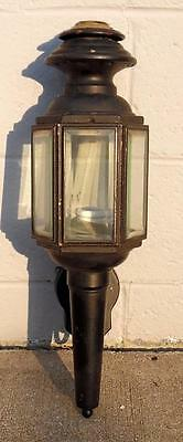 Vintage Indoor Outdoor Solid Brass Coach Style Wall Sconce Wall Lighting Fixture