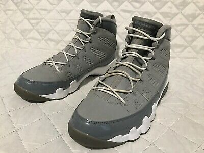 b3537a53c4bc31 2012 NIKE AIR Jordan Retro IX 9 Cool Grey 302370-015 Men s Size 17 ...