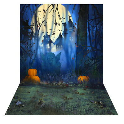 Andoer 1.5 * 2m Photography Background Backdrop Digital Printing Hallowmas V1N7