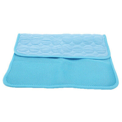 Summer Non-Toxic Cool Gel Pad Bed Cooling Chilly Mat Pet Dog Cat Heat Relief SW