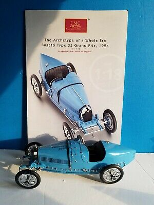 CMC Bugatti Typ35 Grand Prix 1924 1 18 Scale Car Made in Germany