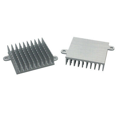 19*19*5mm Black Anodized Aluminium Heat Sink For IC Memory//TO-126//TO-220//IC TO-3