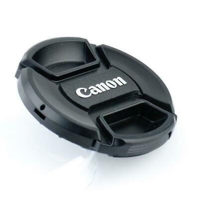 Snap-on front 58mm len cap cover straps for canon eos EF 18-55-250 Dust proof