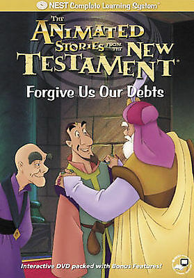 Animated New Testament Forgive Us Our Debts Interactive DVD Brand New Sealed
