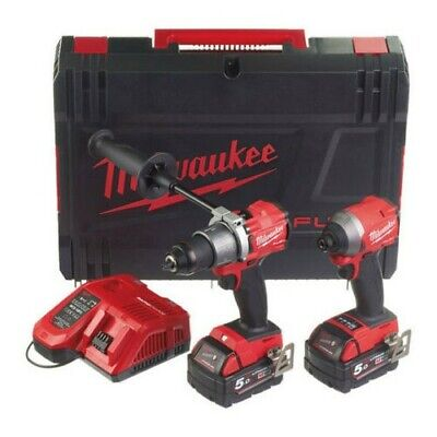 MILWAUKEE M18FPPP2A2-502X  'FUEL' Gen 3 Power Twin Pack