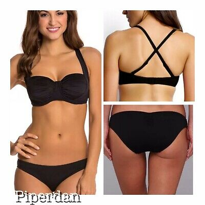 NWT $194   SEAFOLLY  US 8 F CUP TOP /& US 10 BOTTOM   RIVIERA