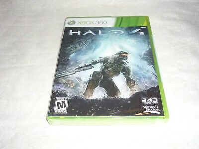 Halo 4 (Microsoft Xbox 360, 2012)  BRAND NEW & FACTORY SEALED