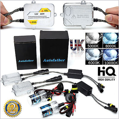 HID KIT Xenon light Bulb Slim Ballast H1 H7 H8 H9 H11 9006 H3 9005/HB3 All Color