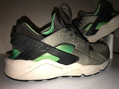 newest 4c9c9 e3019 Nike Air Huarache Grey Midnight Fog Green Mint Trainer 318429 013 Sz 11