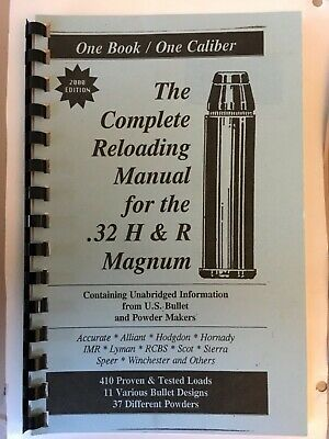 25 ACP &  32 ACP Reloading Manual LOADBOOKS USA 25 Auto 32 Auto NEW
