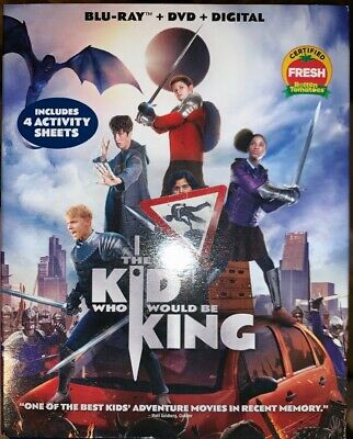 The Kid Who Would Be King (Blu-ray 2019) Patrick Stewart