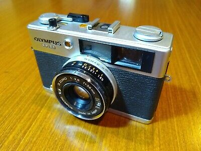 Olympus 35ED. Vintage, fully automatic, 35mm 'rangefinder' FILM camera.