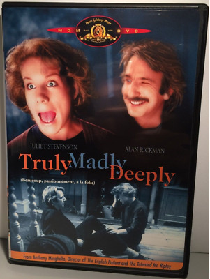 Truly, Madly, Deeply (DVD, 2001) Region 1 Rare OOP  FACTORY NEW SEALED