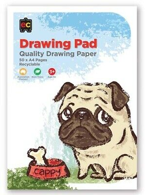 Educational Colours Drawing Pads - 5 pack: 48x A4 Pages