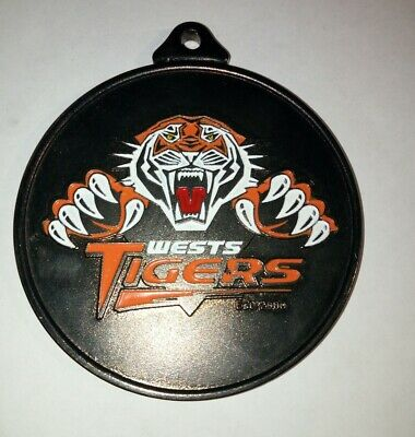 Large Wests Tigers Rugby League Medallion Badge Nrl Arl