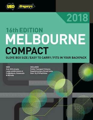 MELBOURNE STREET DIRECTORY 2018 52ND Maps by UBD Gregorys