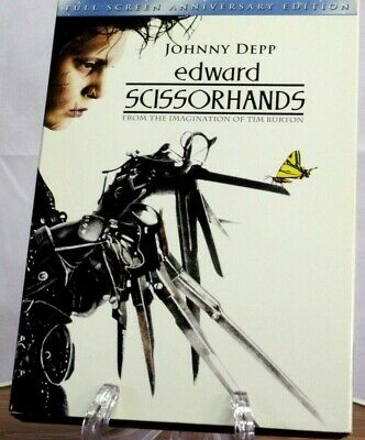 """Edward Scissorhands"" (DVD,1990) Collectors Special!~25% Off 4 Or More!"