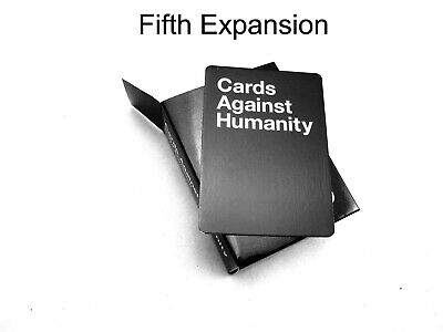 Brand New Sealed Cards Against Humanity:5th Fifth Expansion Pack Premium Gift