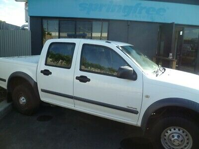6/2005 Holden Ra Rodeo Duel Cab,V6 Petrol/Gas, 5Spd 4X4 Manual Utility.