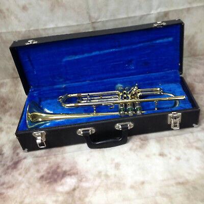 Vintage Brass ENCORE TAIWAN TRUMPET With Case