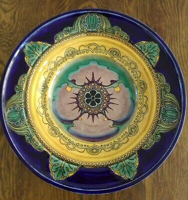 antique Dutch Rozenburg Plate, The Hague , Art Nouveau - period 1896