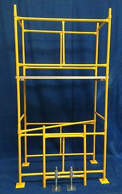 Domestic  DIY 4ft x 2ft Steel Scaffold Tower - FREE NEXT WORKING DAY DELIVERY