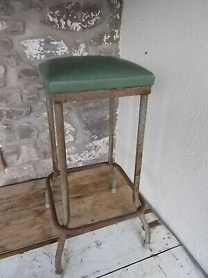 Metal Machinists Stool As Found Original Condition.