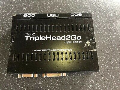matrox triple head2go digital edition