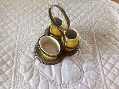 Antique Condiment Set, Made In England