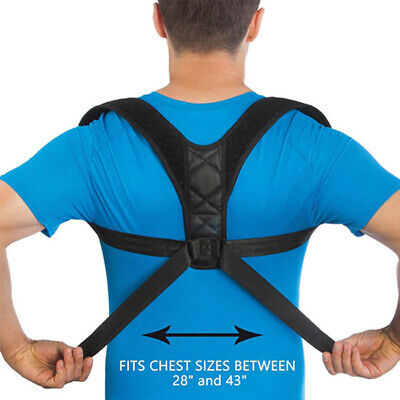 Back Shoulder Correction Belt Brace Men Women Posture Corrector Pain Relief