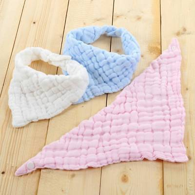 Baby Bib Pure Cotton Blend Gauze Saliva Towel Bib Feeding Triangle Bandana