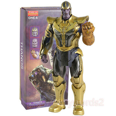 Crazy Toys Marvel Avengers: Infinity War Thanos 30cm Action Figurine Statue Gift