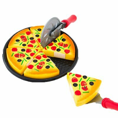 Dinner Food Gift Kitchen Toys Pretend Play Educational Plastic Pizza