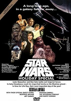 Star Wars Holiday Special 1978 unreleased DVD. FREE USA SHIPPING