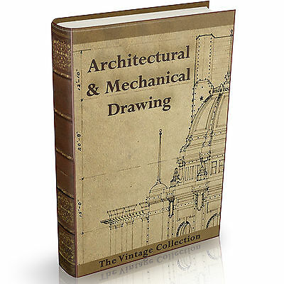 315 Rare Architectural Mechanical and Technical Drawing books on DVD Draughtsman